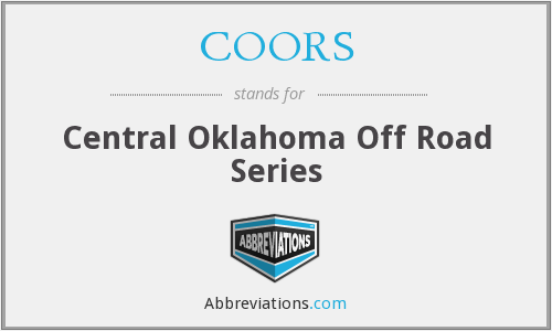 COORS - Central Oklahoma Off Road Series