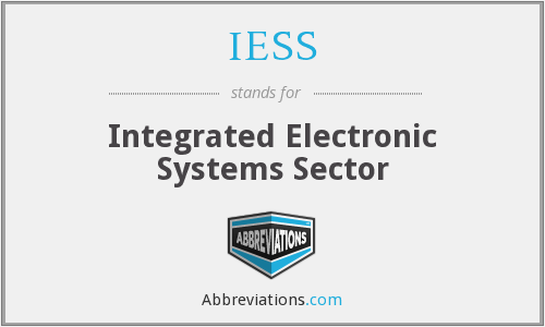 What does IESS stand for?