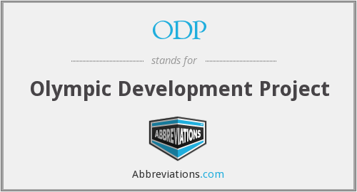 ODP - Olympic Development Project