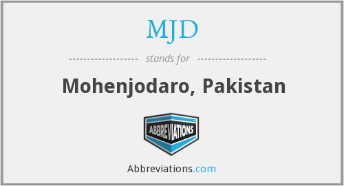 MJD - Mohenjodaro, Pakistan