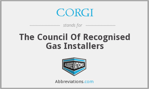CORGI - The Council Of Recognised Gas Installers