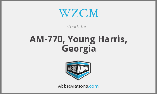WZCM - AM-770, Young Harris, Georgia