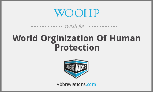 WOOHP - World Orginization Of Human Protection