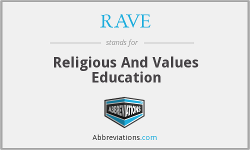 RAVE - Religious And Values Education