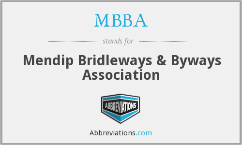 MBBA - Mendip Bridleways & Byways Association