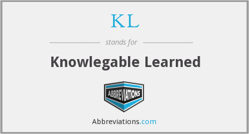 KL - Knowlegable Learned