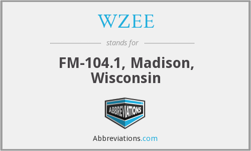 WZEE - FM-104.1, Madison, Wisconsin
