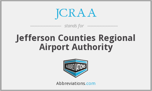 What does JCRAA stand for?