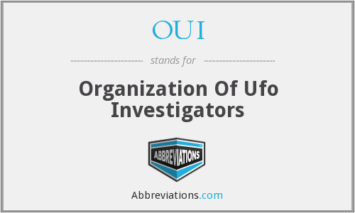 OUI - Organization Of Ufo Investigators
