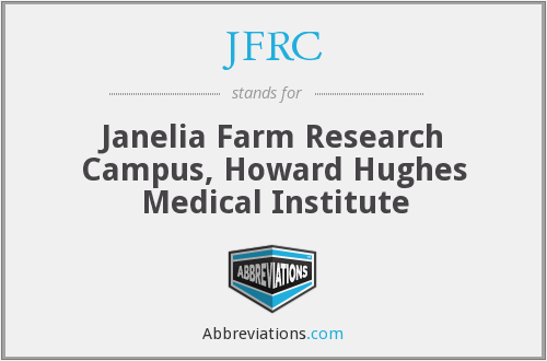 JFRC - Janelia Farm Research Campus, Howard Hughes Medical Institute