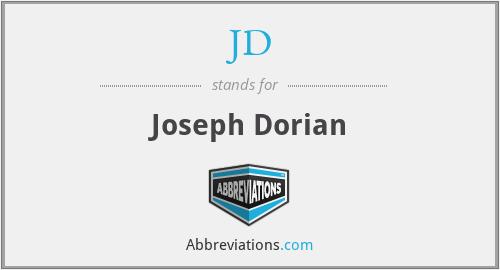 JD - Joseph Dorian