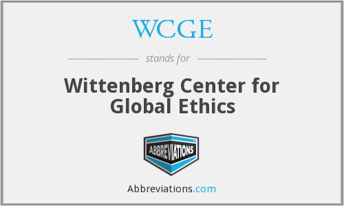 What does WCGE stand for?