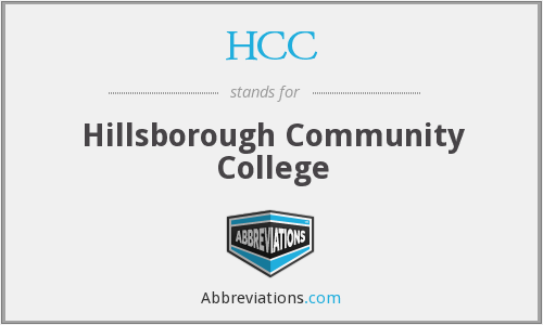HCC - Hillsborough Community College
