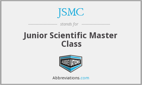 JSMC - Junior Scientific Master Class