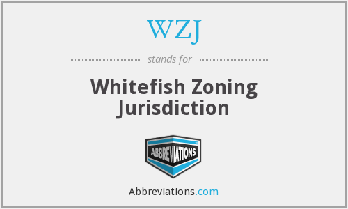WZJ - Whitefish Zoning Jurisdiction