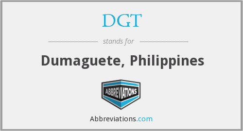 What does DGT stand for?