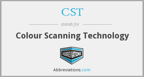 CST - Colour Scanning Technology