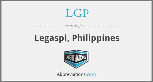 LGP - Legaspi, Philippines