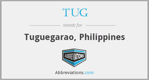 What does TUG stand for?