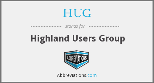 HUG - Highland Users Group