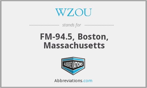 WZOU - FM-94.5, Boston, Massachusetts