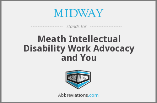 MIDWAY - Meath Intellectual Disability Work Advocacy and You