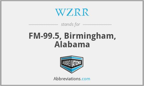 WZRR - FM-99.5, Birmingham, Alabama