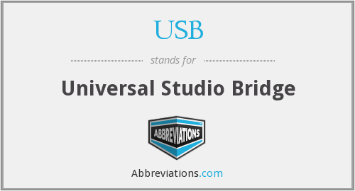 USB - Universal Studio Bridge