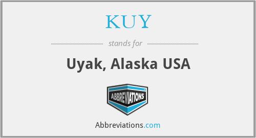 KUY - Uyak, Alaska USA