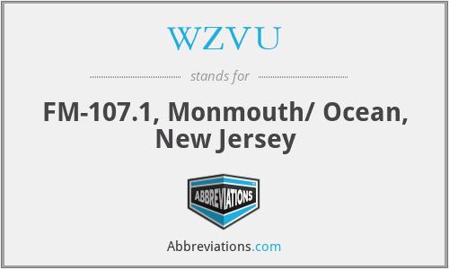WZVU - FM-107.1, Monmouth/ Ocean, New Jersey