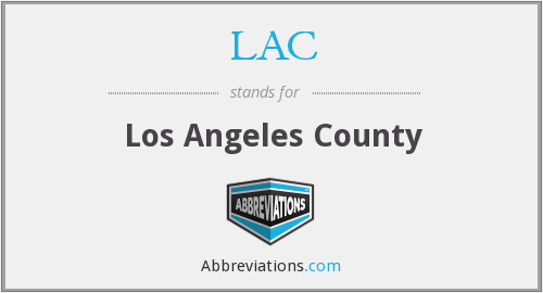 LAC - Los Angeles County