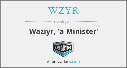 What does WZYR stand for?
