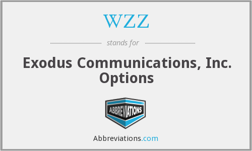 WZZ - Exodus Communications, Inc. Options