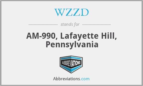 WZZD - AM-990, Lafayette Hill, Pennsylvania