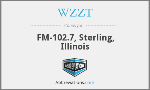 WZZT - FM-102.7, Sterling, Illinois