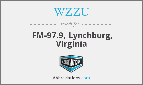 What does WZZU stand for?