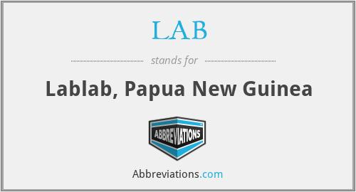 LAB - Lablab, Papua New Guinea