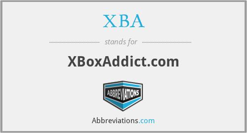 XBA - XBoxAddict.com