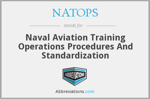 NATOPS - Naval Aviation Training Operations Procedures And Standardization