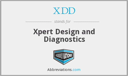 XDD - Xpert Design and Diagnostics