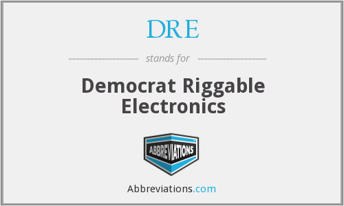 DRE - Democrat Riggable Electronics