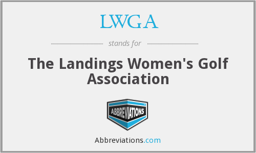 LWGA - The Landings Women's Golf Association