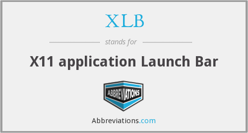 XLB - X11 application Launch Bar