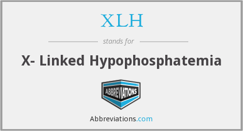 What does XLH stand for?