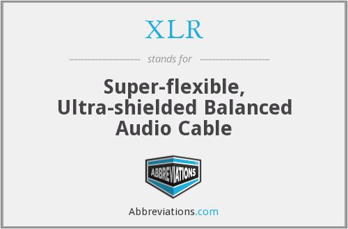 XLR - Super-flexible, Ultra-shielded Balanced Audio Cable
