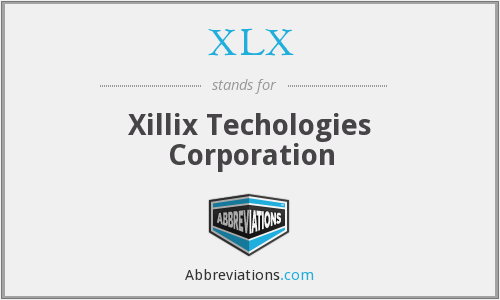 What does XLX stand for?
