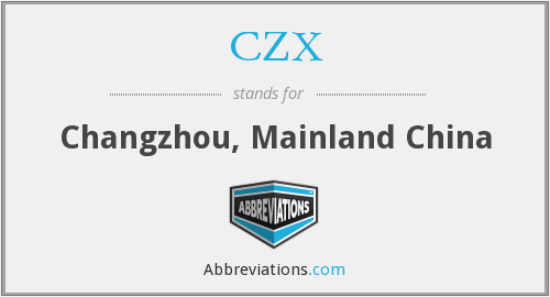 What does CZX stand for?