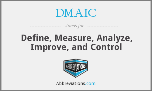 What does DMAIC stand for?