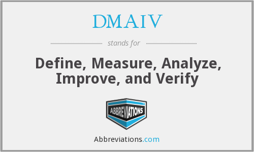 What does DMAIV stand for?