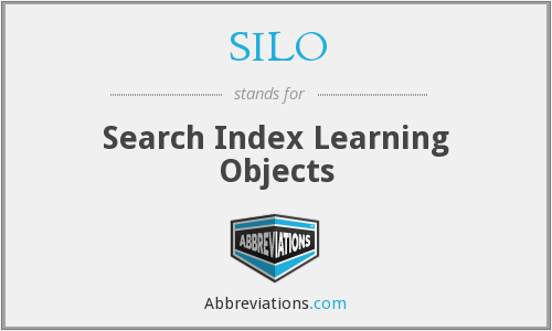 SILO - Search Index Learning Objects